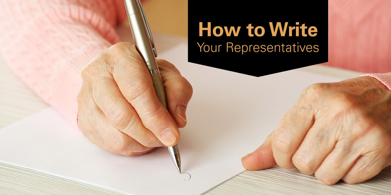 write your representative Communicating with your legislator through the mail or via email is less effective  than speaking with your legislator in person, but it has the advantage of being.